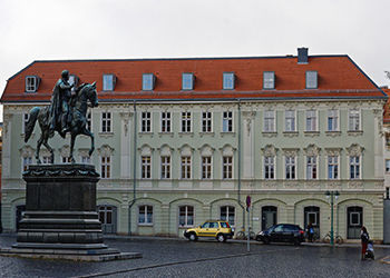 Weimarer Altstadt in Thüringen