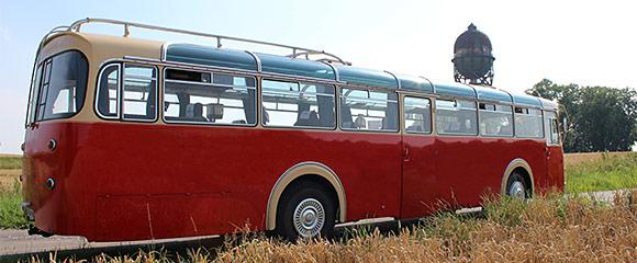 Historischer Büssing Bus