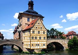 Historisches Fachwerkhaus in Bayern