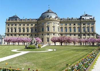 Würzburger Residenz in Unterfranken