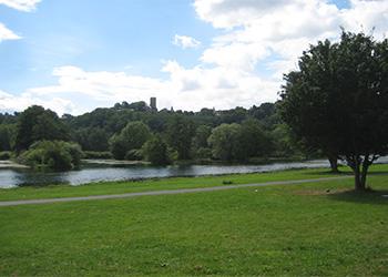 Ruhrgebiet Fluss