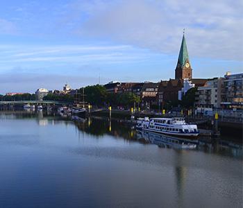 Fluss Bremen