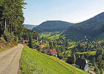 Skyline von Freudenstadt im Schwarzwald