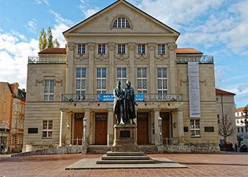 Museum in Weimar Thüringen