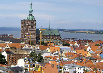 Eine Hochzeit in Stralsund mit Oldtimer