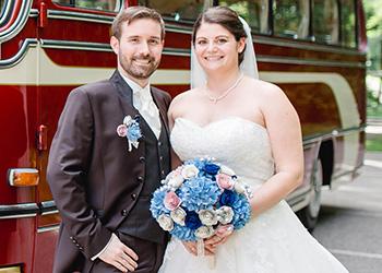 Hochzeitsbus in Stuttgart