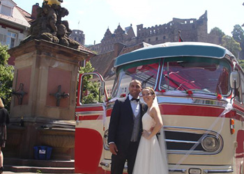 Der Heidelberger Hochzeitsbus