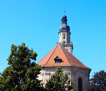 Eine Kirche in Erlangen