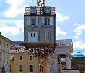 Karlsruher Wurzelhaus in Baden-Württemberg