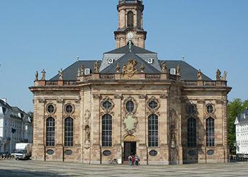 Die Saarbrückener Lüdwigskirche