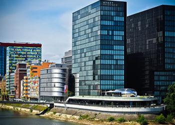 Medien Hafen von Düsseldorf