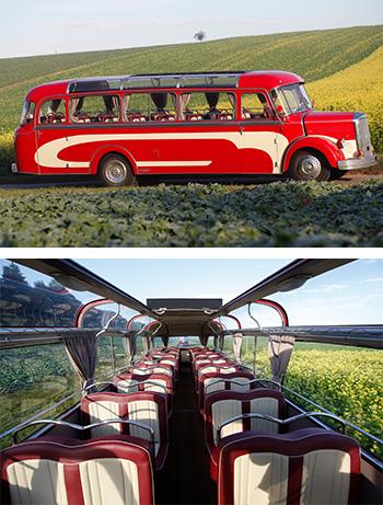 Historischer Daimler Benz
