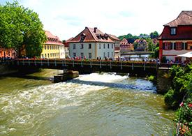 Bamberger Altstadt in Bayern