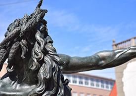 Statue in Augsburg