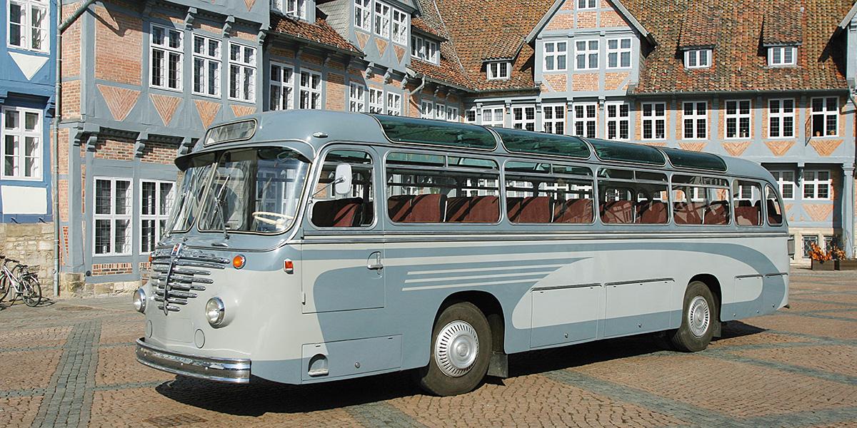 Braunschweig Oldtimer Bus