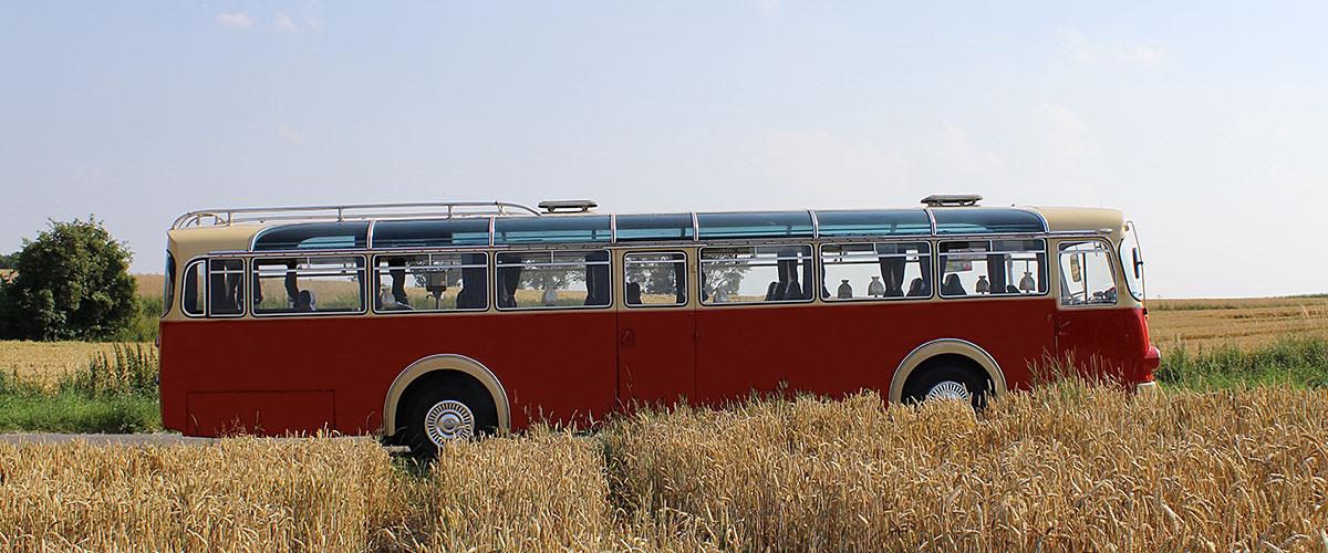 Oldtimer Bus Koeln