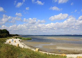 Strand von Kiel