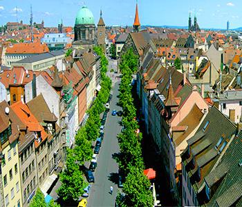 Nürnberger Skyline