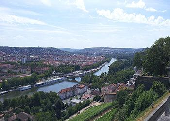 Skyline von Würzburg