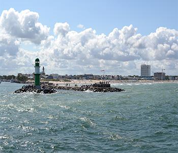 Der Strand von Rostock