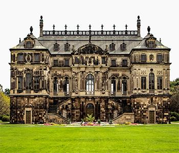 Besichtigung von einem Schloss in Dresden