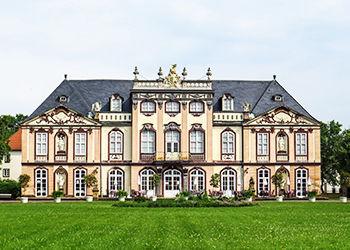 Erfurter Schloss in Thüringen