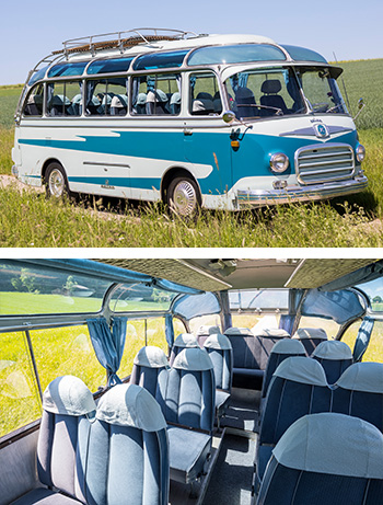 Nostalgie Bus Kässbohrer