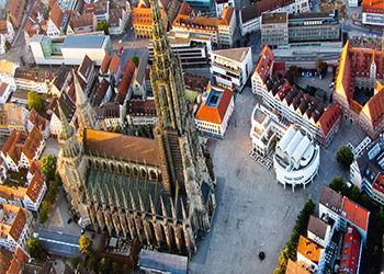 Kathedrale Ulm Oldtimerbus