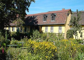 Historischer Garten von Goethe in Weimar