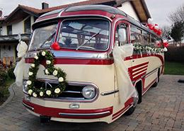 Hochzeitsbus-mit-Blumenschmuck-und-Schleife