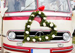 Hochzeitsdecko-Auto