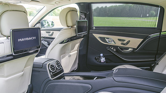 Mercedes Maybach Limousine Service