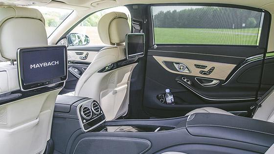 Mercedes Maybach Limousine Service