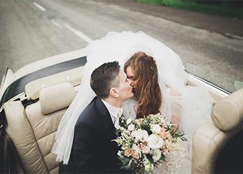 Oldtimer mit Chauffeur als Auto für Hochzeit