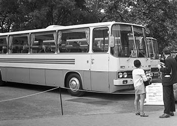 Omniebus Ikarus 250 in Budapest