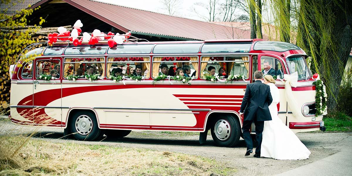 Hochzeitsbus mieten